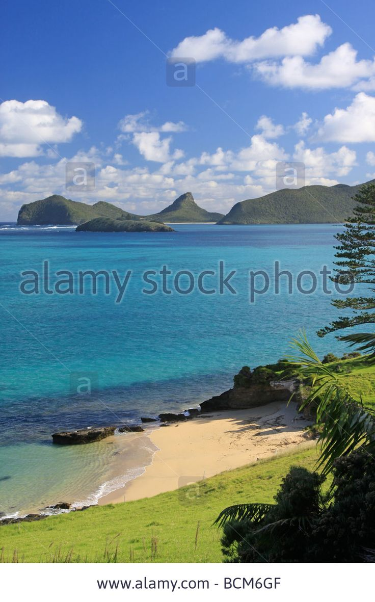 Lovers Bay, Lord Howe Island, Australia