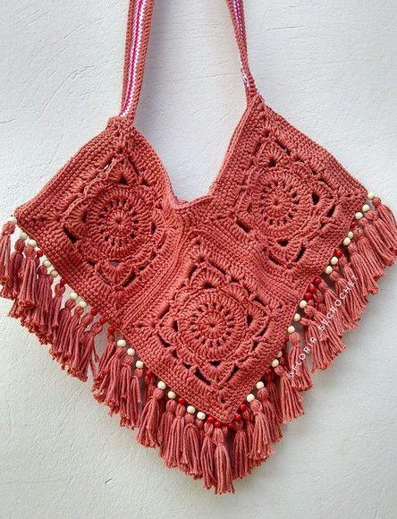 c6e09ec23c Ecobag Classic Bolsa de croch feita mo Perfeita para suas