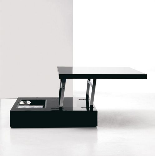Transformable Coffee Table With Gas Lifting Mechanism   T060 Flat By Ozzio  · Floor DeskOffice ...