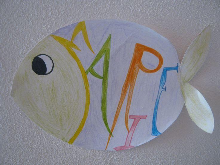 Fish witn name