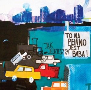 Sabina Twardowska, 'To napewno jest baba', 100x100 cm, acrylic on canvas, 2012