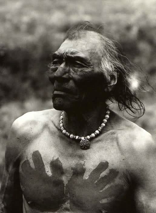 Crow medicine man