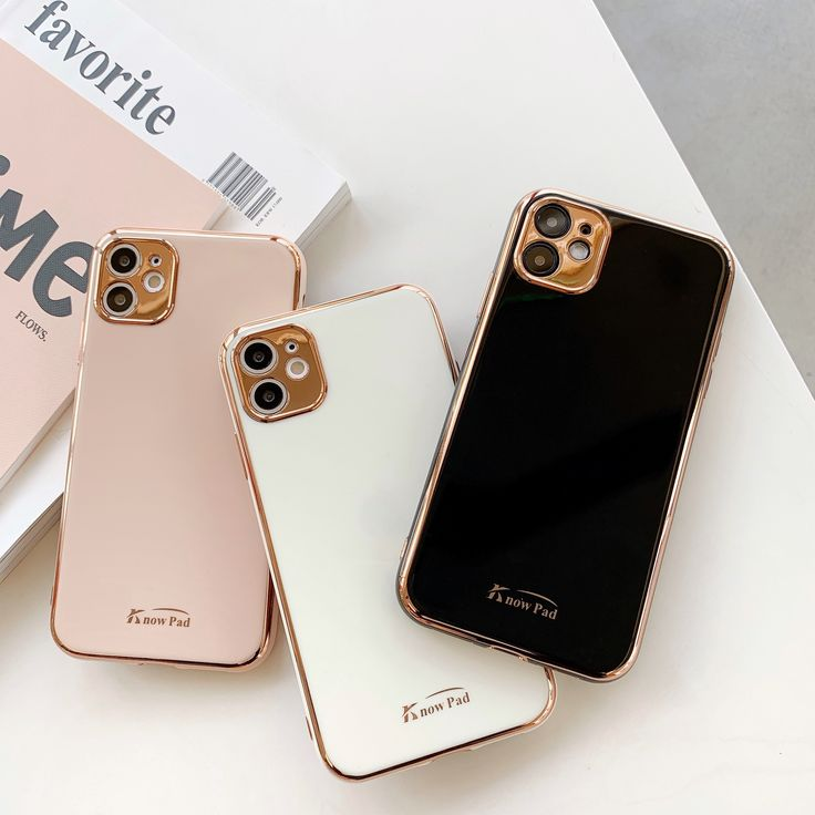 Luxury gold plated electroplated case for iphone 11 pro
