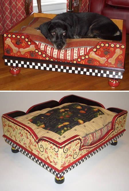 Jakey BB Handcrafted Luxury Pet Bed