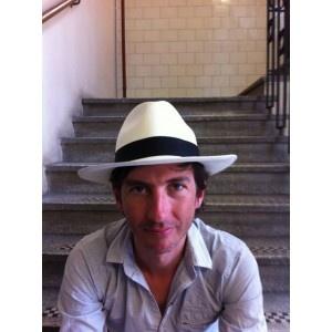 Panama hat- white - Serena Lindeman