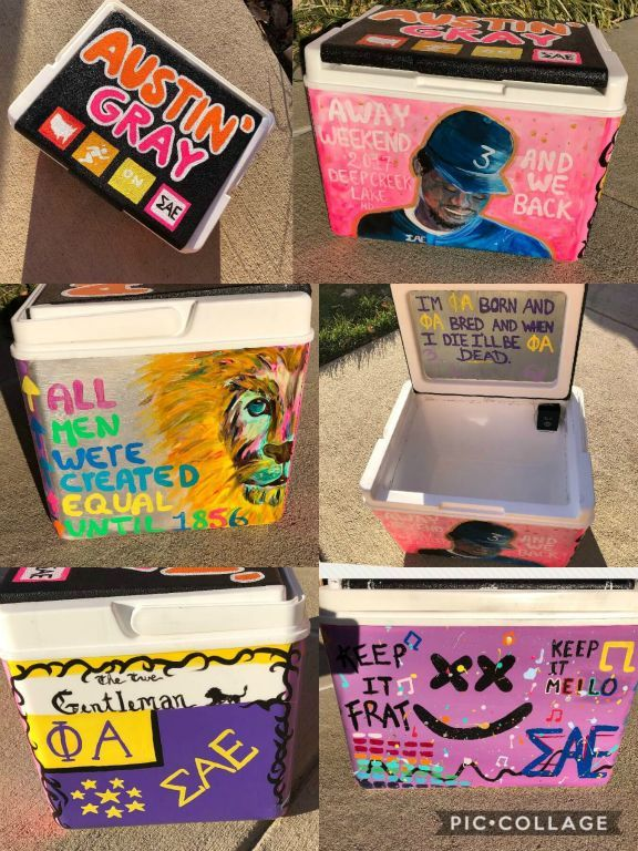 676246fbccc5b COOLERSbyU Painted Cooler Examples