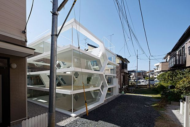 transparent house