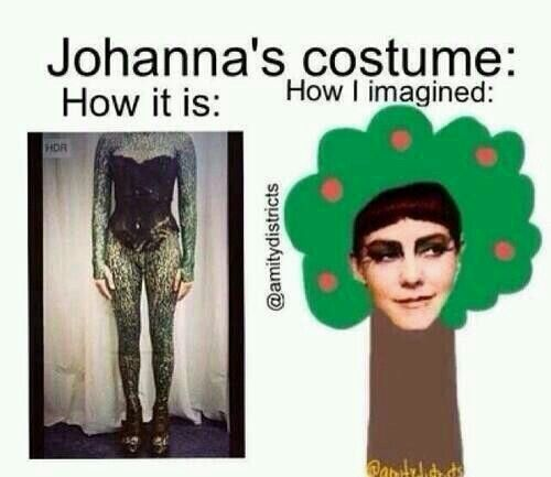 Like exactly. I thought she had this head piece that look like a tree too and the rest was a hollow cylinder for the tree trunk haha