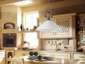 Stile Country: arredare con le lampade rustiche in ceramica via @Design di Luce