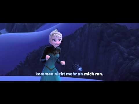 Let It Go - Sing Along - Song: DIE EISKÖNIGIN - VÖLLIG UNVERFROREN - Music: Frozen - Disney - YouTube