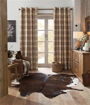 Find This Pin And More On Dining Room By Smith3011 Buy Archie Woven Check Eyelet Curtains
