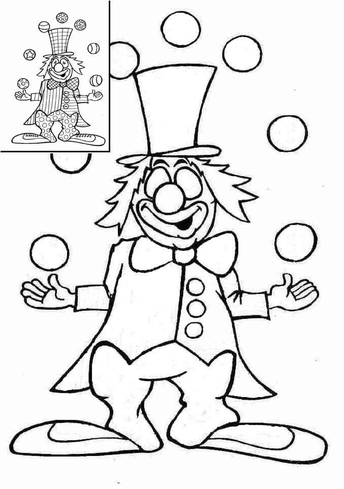 Graphisme en maternelle : Clown et graphisme