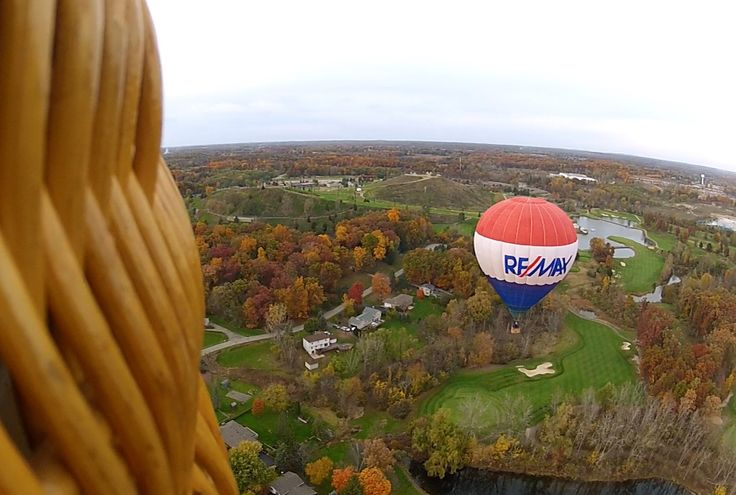 My friend Ted flying the REMAX balloon over  Mount Brighton and Oakland County near Milford and South Lyon, Michigan. Our staff of highly trained Realtors® can help you buy or sell homes and properties in #PalmCoast, #FlaglerBeach, #Bunnell, #StAugustine, #Jacksonville, #OrmondBeach, #DaytonaBeach and surrounding communities. www.rmflagstaff.com/