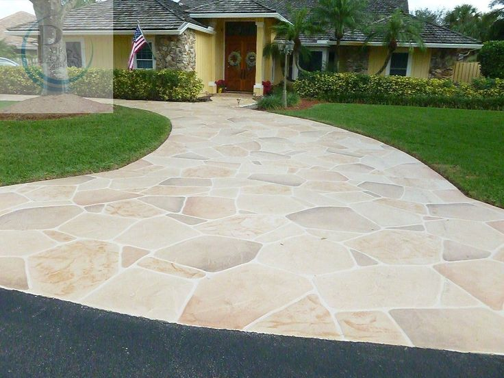 9 best Decorative Concrete Overlay walkway enhancement ideas