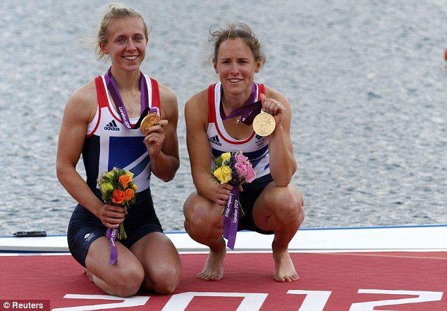 Katherine Copeland & Sophie Hoskins - GOLD, Women's Lightweight Double Sculls