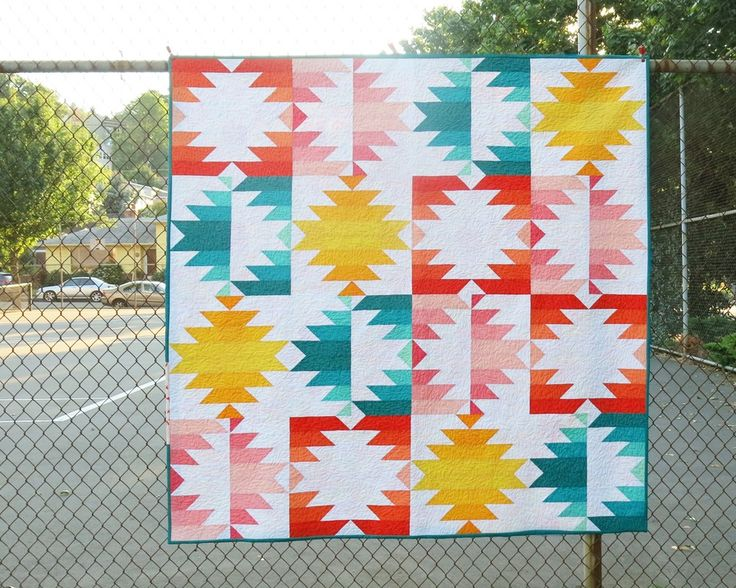 SOLAR ECLIPSE pdf pattern - quilt pattern using jelly roll strips
