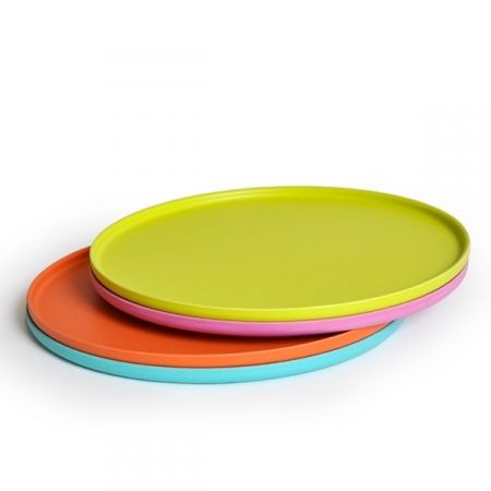 Set de 4 assiettes plates (chargers) Bambino