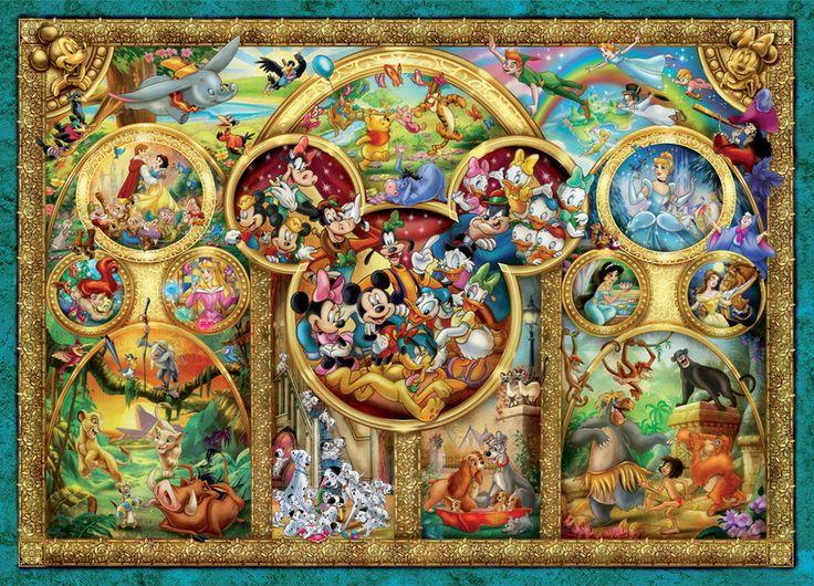 Buy Ravensburger - Best Disney Themes Puzzle - 1000pc