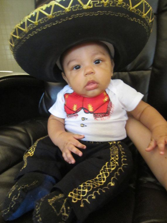 Charro outfit for baby with Boots and Hat