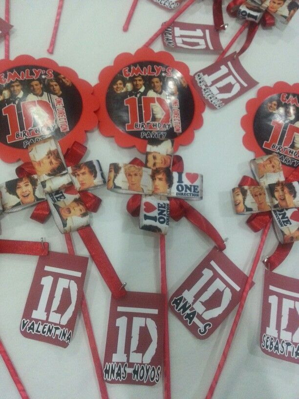 One direction invitations party ideas by tyk workshop