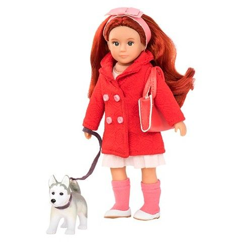 "Lori 6"" Doll and Pet - Bryn & Blaze"