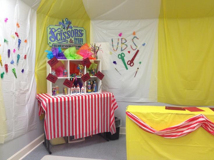 Kids Crafts Ideas Circus Amusement Park Vbs