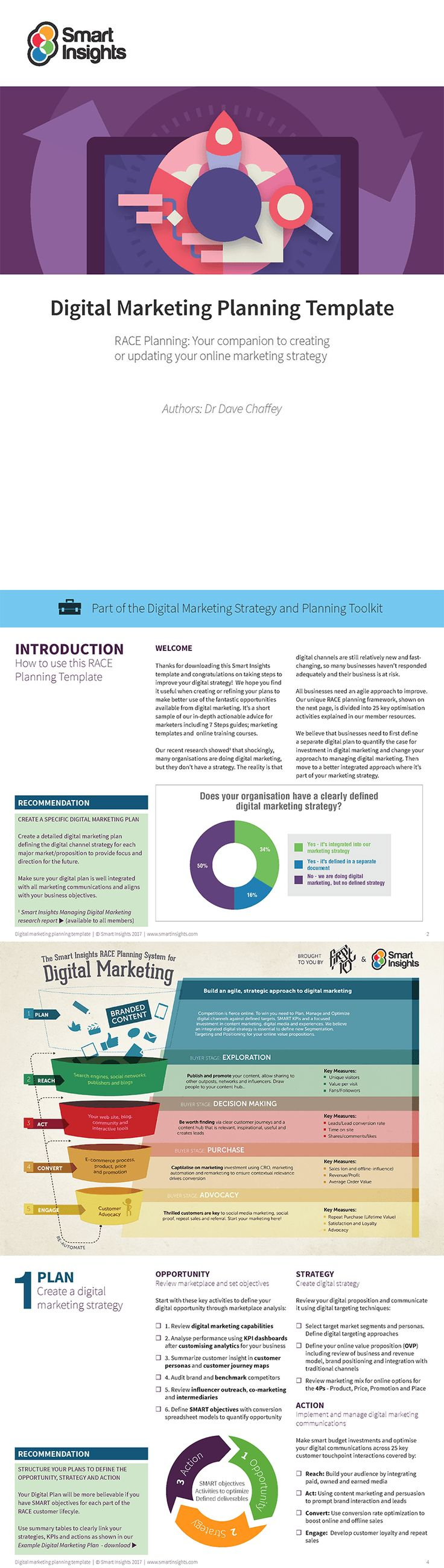 The  Best Marketing Plan Template Ideas On   Digital