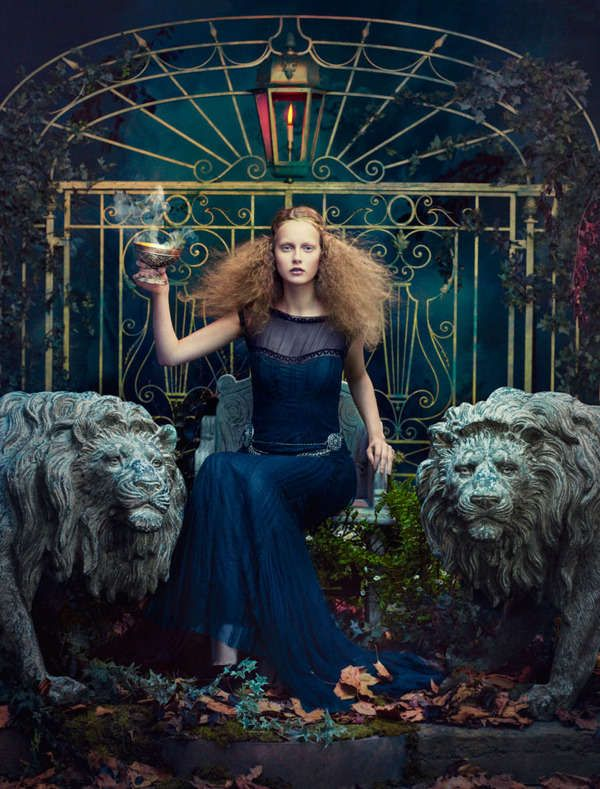 Bohemian Nymph Editorials - This Photo Series from Absynth Photography is Edgy and Ethereal (GALLERY)