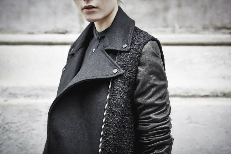 ALLSAINTS | WORN IN LONDON. The Cho Biker Jacket on Location. Set against a London backdrop, our Autumn style hits the street