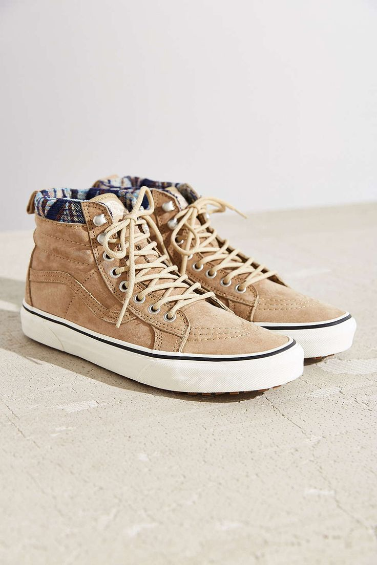 Roller shoes vans - Vans Sk8 Hi Woven Chevron Mte Sneaker