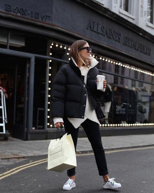 12 warme Winteroutfits, die noch schick sind