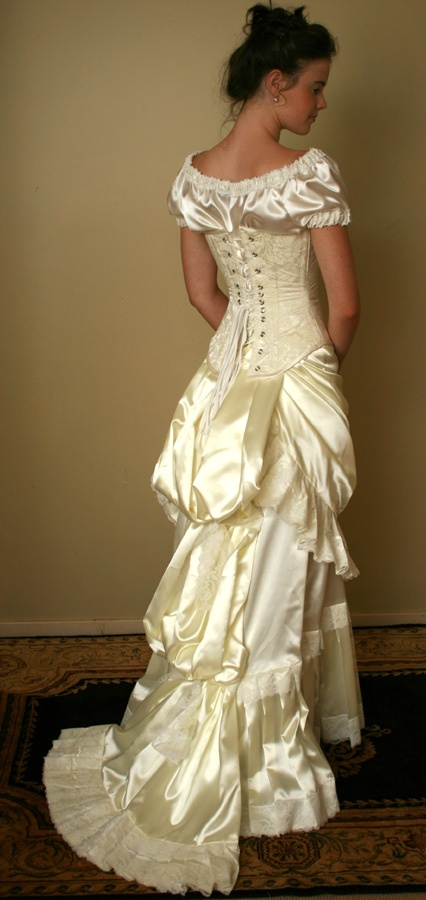 17 best images about isn 39 t it romantic on pinterest for Victorian corset wedding dresses