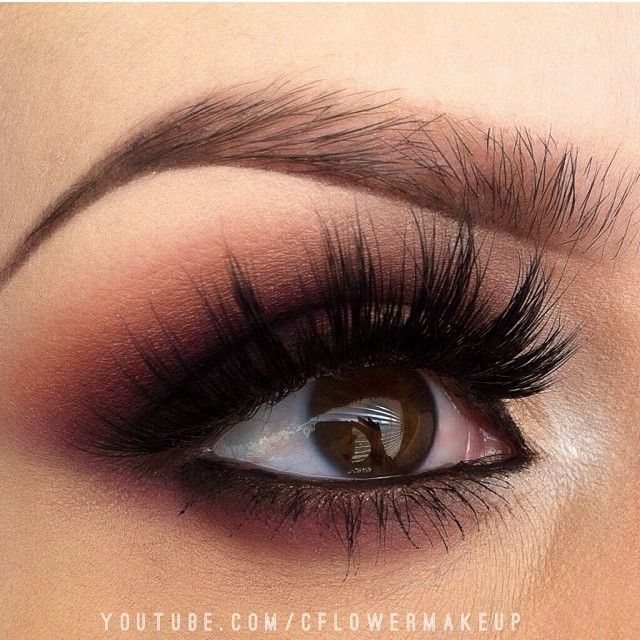 """Love her eyes ✨✨@C_Flower✨✨ and our """"NATALIE"""" mink lashes make a #PERFECT pair ❤❤❤ ✨Exclusively at www.FlutterLashes.com✨ #flutterlashes"""