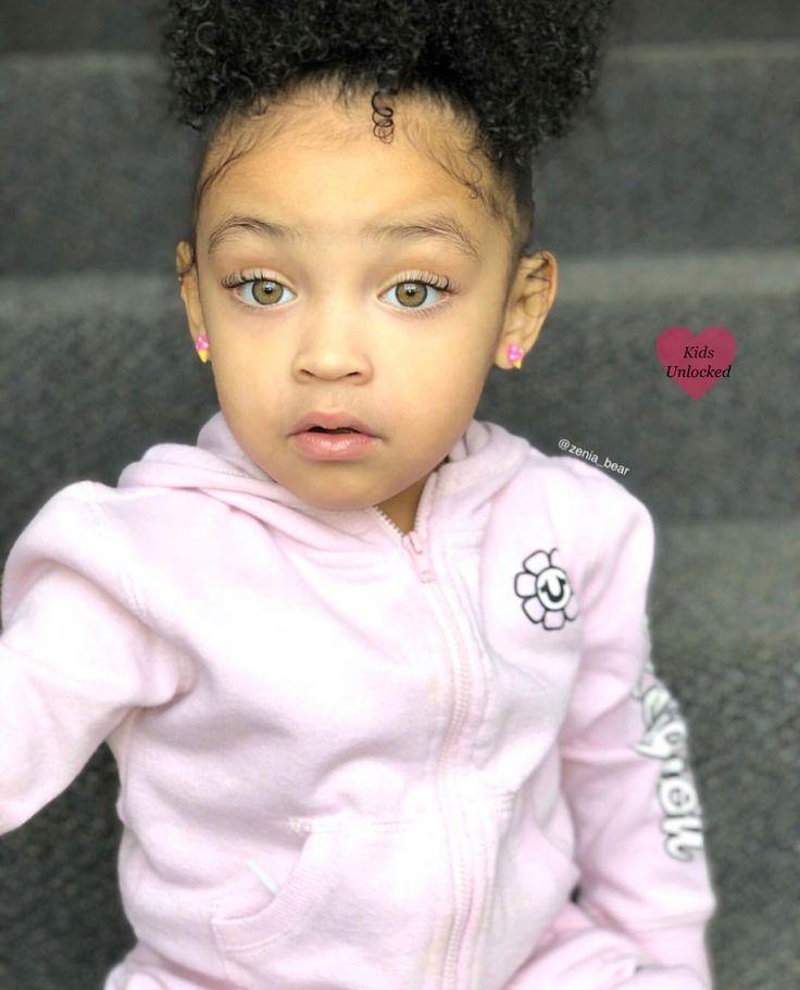 Zenia Jessa • 3 ans • Afro-américaine, mexicaine, amérindienne et irlandaise … – Cute kids