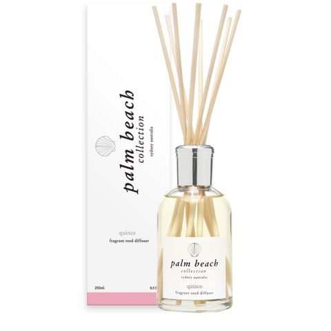 Quince - Sweet fruits and white florals create this luscious and sophisticated fragrance. rhubarb, passionfruit, white peach and quince are blended with white jasmine and lotus blossom.  http://www.whiteapplegifts.com.au/epages/shop.sf/en_AU/?ObjectPath=/Shops/whiteapplegifts/Products/0005/SubProducts/0005-0013