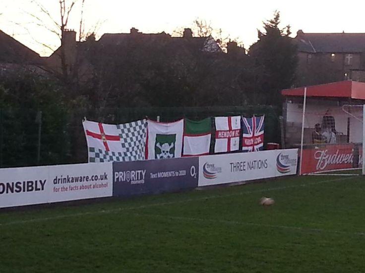 Same flags, same game, different angle.