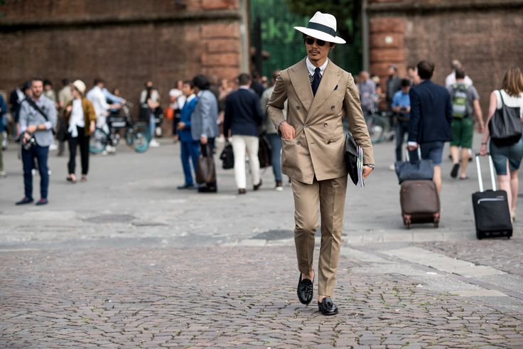 Pitti Uomo Spring 2017: Best Florence Street Style, Day 1 Photos | W Magazine