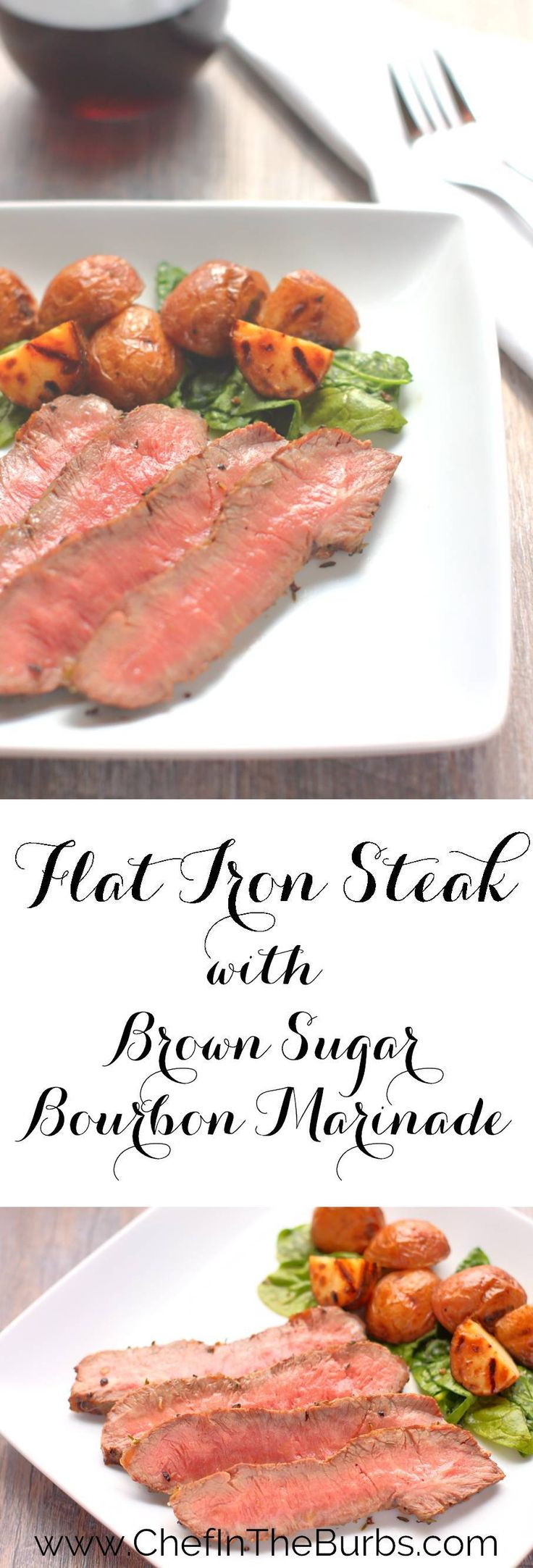 Flat iron steak is perfect for the grill. Marinate or simply salt and pepper it and you've got dinner as tender as tenderloin, half the price and twice the flavor.