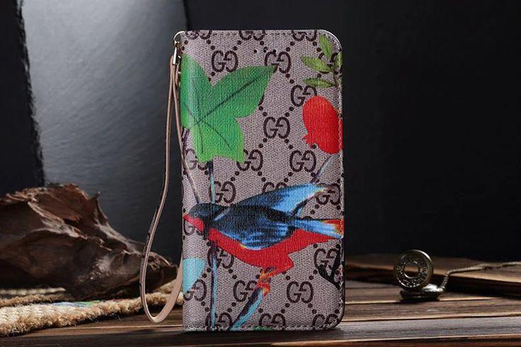 Galaxy S7 Wallet Case Fashion Hummingbird