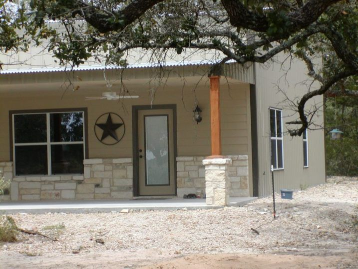 Texas barndominium completed and ready to move in
