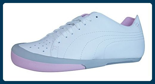 Puma French 77 Damen Leder Sneakers - weiß-White-42 - Sneakers für frauen (*Partner-Link)