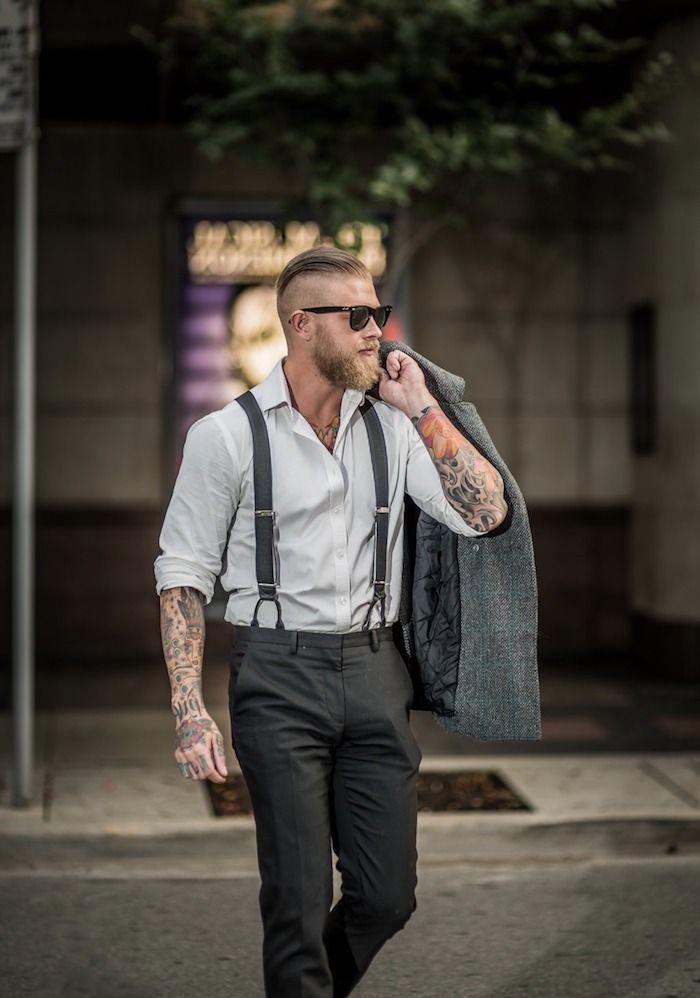 45+ Schwarzes hemd rote krawatte ideen