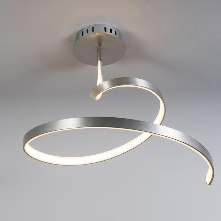Plafond 'Rizo' Moderna stål - LED inkluderat / Inomhus