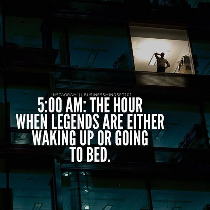 Love this; I feel like getting up earlier makes my day more positive & more productive.