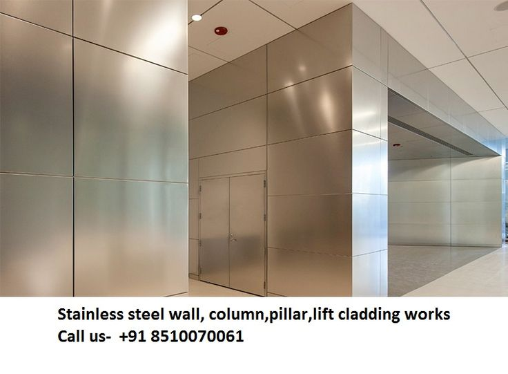 Stainless Steel Escalators : Stainless steel column escalators cladding companies in