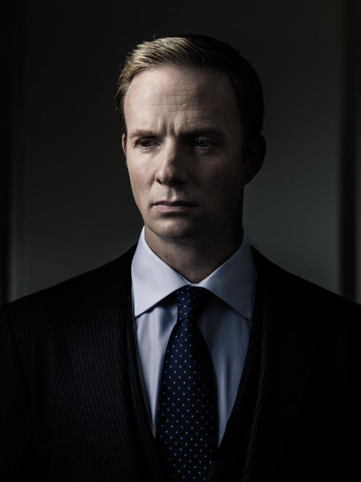 "Rupert Penry-Jones, star of the detective series ""Whitechapel."" Photo by Jim Fiscus."