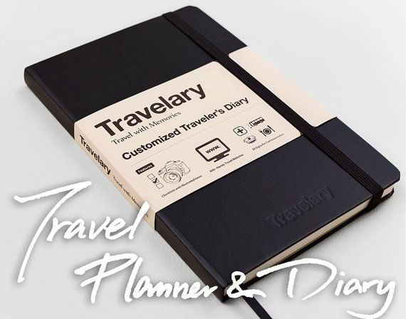 Travel Planner & Diary  The Travel Journal by Travelary on Etsy, $21.95