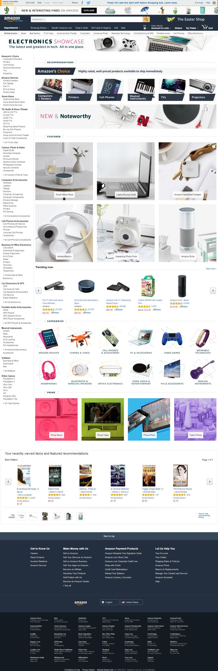 Amazon Latest Arrivals in Electronic Products range -  Related Searches: galaxy s7 edge galaxy s7 edge, best gloves for the cold, ipad mini, air max 90, iphone 6s 32gb, iphone 7 cases, air max 2017, nike air jordan, samsung edge 7, apple iphone 6, samsung s6 edge plus, nike air max 2017, iwatch bands, 43 inch tv, tv lg 42, womens board shorts, nike...