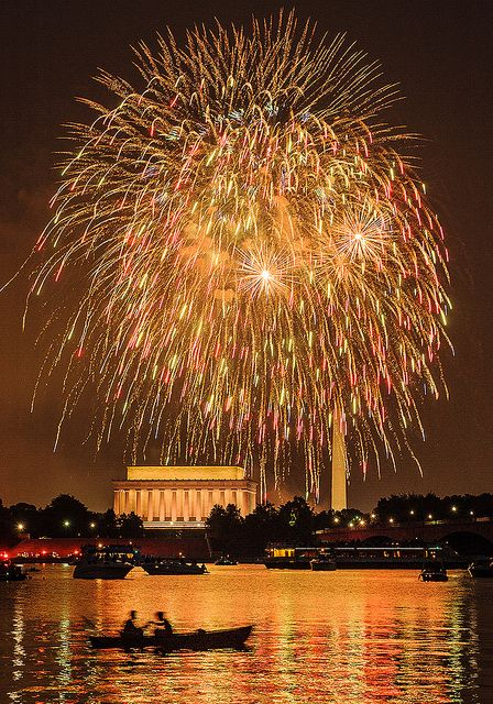 ✵ ✈ TRAVEL Pinspirations ✵ **Washington DC, 4th of July by beforethecoffee, via Flickr**