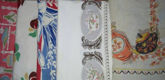 Cutter  vintage tablecloths for sale on Etsy